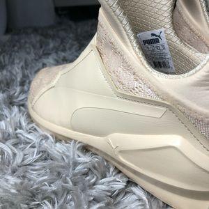 puma fierce krm cream sneakers